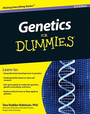 Genetics for Dummies By Robinson, Tara Rodden